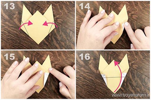 آموزش ساخت اوریگامی,ساخت وریگامی حیونات,آموزش ساخت اوریگامی حیوانات