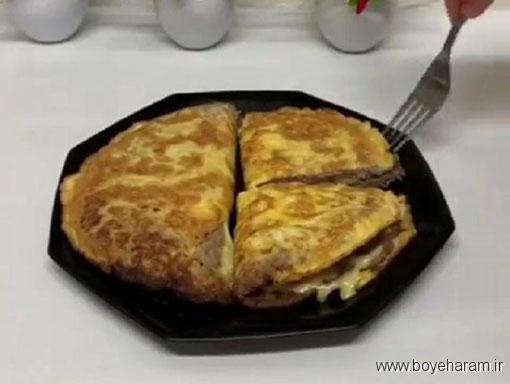درست کردن تخم مرغ گوشتی,دستور درست کردن تخم مرغ گوشتی,آموزش طرز تهیه ی تخم مرغ گوشتی