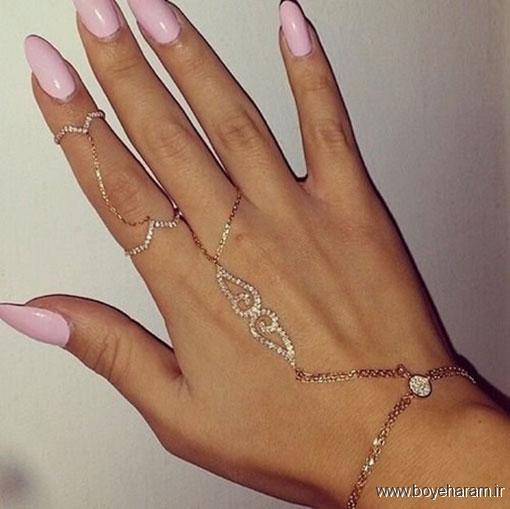 مدل های جدید تمیمه,دستبند انگشتری,جدیدترین مدل های تمیمه,مدل های اروپایی دستبند انگشتری