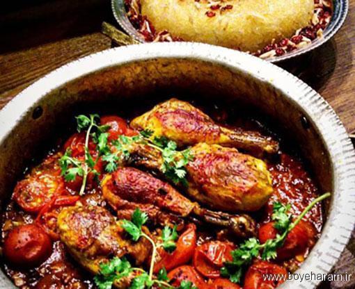 آموزش درست کردن مرغ آلو,درست کردن مرغ آلو,دستور درست کردن مرغ آلو,آموزش طرز تهیه ی مرغ آلو