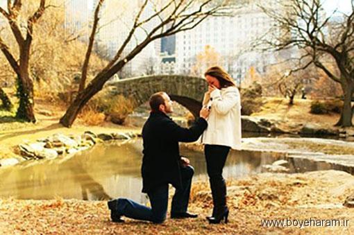 فضای مناسب برای پیشنهاد ازدواج,زمان درست برای پیشنهاد ازدواج,روش درست پیشنهاد ازدواج,پیشنهاد ازدواج در مقابل دیگران
