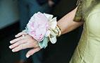 شیکترین مدل های دسته گل دور مچ عروس