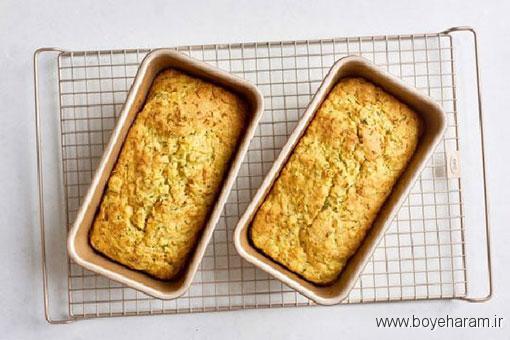 آموزش درست کردن نان کدوسبز,درست کردن نان کدو سبز,دستور درست کردن نان کدو سبز,آموزش طرز تهیه ی نان کدو سبز