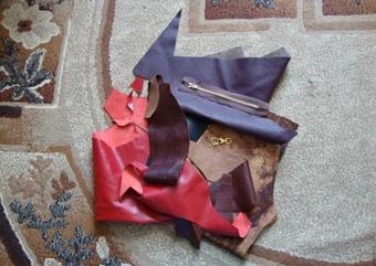آموزش کیف دوزی,دوخت کیف چرم,ساخت کیف چرم