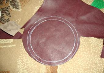 دوخت کیف چرم زنانه,آموزش دوخت کیف چرم زنانه