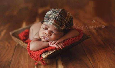 نوزاد سیاه پوست