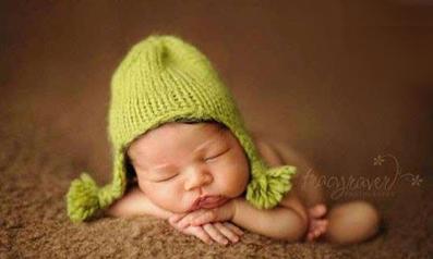 نوزاد های خوابیده شیرین,نوزاد 4ماهه
