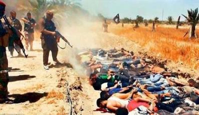 اعدام 85 نیروهای عراقی به دست داعش