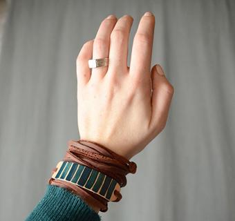 مدل های دستبند چرم,دستبند چرم دخترونه,دستبند چرمی ساده,دستبند گره ای قابل تنظیم