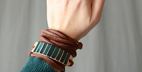 آموزش ساخت دستبند چرم به ساده ترین روش