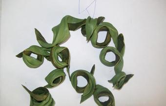 سایت گلسازی با چرم,ساخت کاردستی با چرم