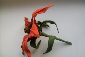 آموزش گل چرمی,مدل های چرم سازی