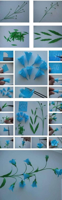 آموزش تصویری گل کاغذی,ساخت گل شیپوری,آموزش گل شیپوری,آموزش گل کاغذی,آموزش ساخت گل با کاغذ,ساخت گل شیپوری با کاغذ