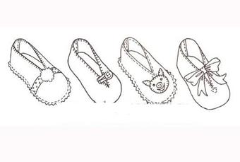 بافت پاپوش نوزاد,بافت روفرشی نوزاد,آموزش ساخت کفش برای بچه ها,ساخت کفش پارچه ای
