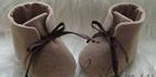 ساخت کفش زمستانی بچه گانه با نمدی
