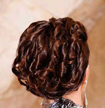 شیکترین مدل موی عروس,شینیون مو,مدلهای شینیون مو