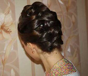مدل شینیون موی عروس,جدیدترین مدل موی عروس