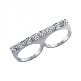 مدل انگشتر دو انگشته,مدل انگشتر دو انگشت,حلقه دوقلو,انگشتر دوقلو