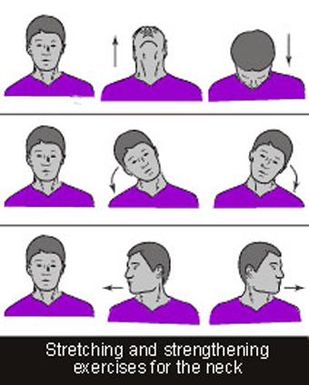 ورزش ازبین برنده درد گردن,ورزش کم کننده درد گردن,کاهش درد گردن,درمان درد گردن,درمان درد گردن با ورزش