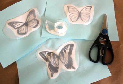 ساخت کاردستی برای بچه ها,ساخت پروانه,آموزش درست کردن پروانه,ساخت پروانه با مقوا