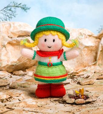 بافت عروسک دختر بچه