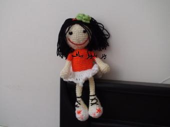 بافت عروسک,عروسک بافتنی,بافت عروسک فانتزی,عروسک قلاب بافی