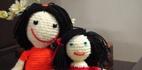آموزش عروسک بافتنی فانتزی با کاموا