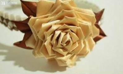 مدل گل های روبانی,گلهای روبانی,گل های روبانی