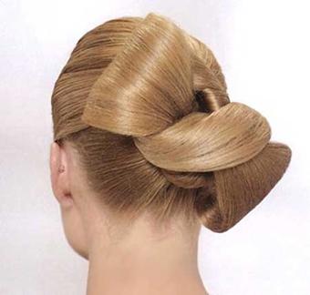 آموزش تصویری آرایش مو,آرایش مو برای عروسی