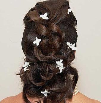 آرایش مو برای عقد و عروسی,خوشکلترین مدل مو,شیکترین مدل مو