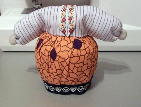 آموزش تصویری ساخت عروسک, ساخت عروسک پارچه ای