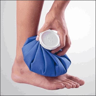 یخ درمانی,درمان درد با یخ,درمان درد پا با یخ,درمان پا درد با یخ