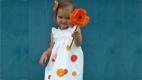 آموزش دوخت سارافون دخترانه بین 8 تا10سال
