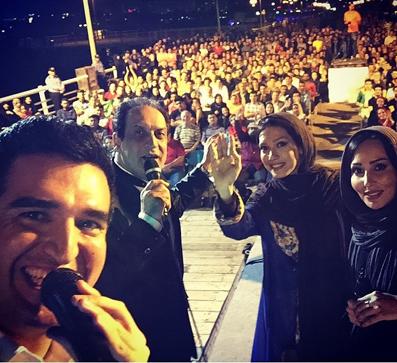 جدیدترین عکس های پرستو صالحی,عکس پرستو صالحی و همسرش