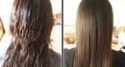 آموزش صاف کردن مو با کرم صاف کننده یا گلت