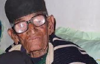 ازدواج یک مرد 110 ساله