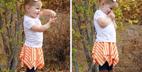 آموزش ساخت دامن کوتاه دخترانه به ساده ترین روش