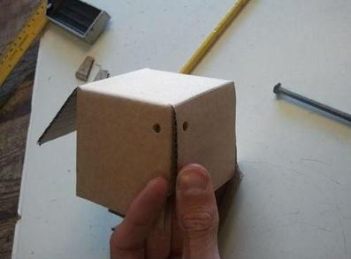 ساخت قلک مقوایی,آموزش ساخت قلک با کاغذ