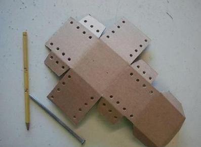 آموزش ساخت قلک با مقوا,ساخت قلک با کاغذ,ساخت قلک کاغذی