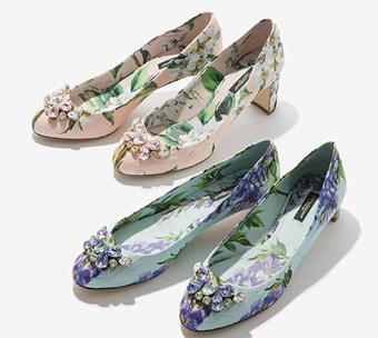 مدل کفش طرح دار,کفش گل دار