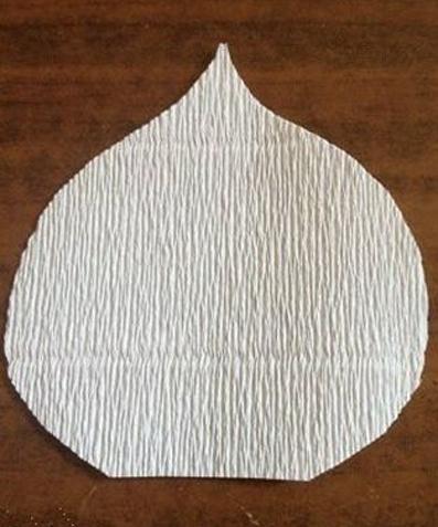 آموزش گل شیپوری,آموزش تصویری ساخت گل شیپوری