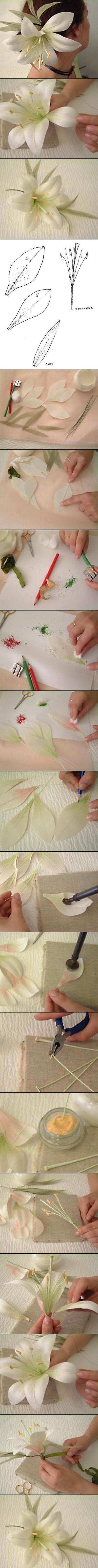 ساخت تل سر دخترانه,ساخت گل سر دخترانه,ساخت انواع تل,ساخت انواع گل سر,آموزش گل سر دخترانه,آموزش گل سر زنانه,ساخت تل با کاغذ,ساخت تل سر پارچه ای
