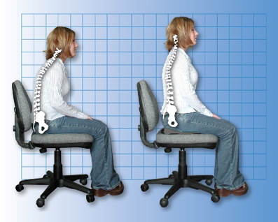پیشگیری از بیماریها,آموزش صاف نشستن,جلوگیری از درد کمر