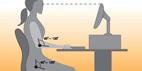 شیوه ای نوین و استاندارد برای نشستن روی صندلی