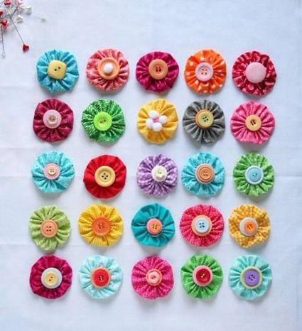 آموزش گلدوزی,دوخت گل,ساخت گل,دوخت گل روی کوسن