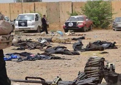 کشته شدن 30 داعشی,اخبار داعش,اجساد تروریست های داعش