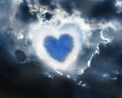 عکس رمانتیک قلب