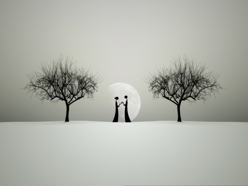 عکس های گرافیکی عاشقانه