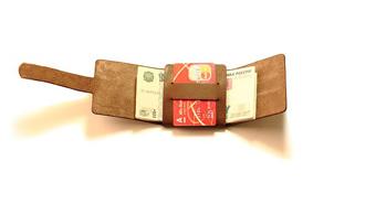 آموزش ساده ساخت کیف پول چرم