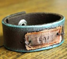 ساخت دستبند با چرم,آموزش دستبند چرم